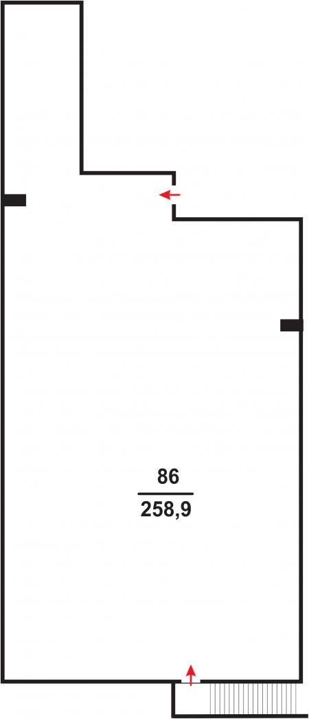 Нежитлове примiщення №86, Березова 46, у ЖК Parkland