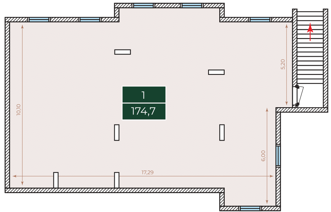 Нежитлове примiщення Березова 46, №89 у ЖК Parkland